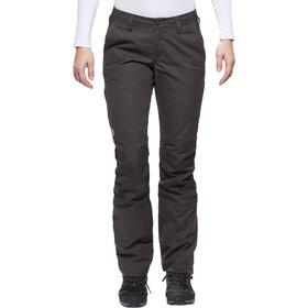 Fjällräven Nilla Pantalones Mujer, dark grey